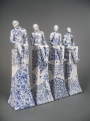 Set of Four Male Nudes (102) (original ceramics) £2000 plus delivery by Pierre Williams