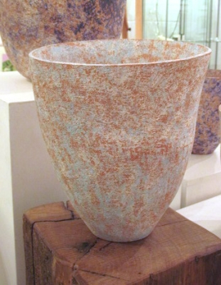 Handcrafted Ceramic Pot 2 (clay 22 x 19 x 22cm) £75 plus delivery by Sheona Goodyear