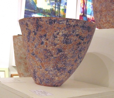 Handcrafted Ceramic Pot 3 (clay 22 x 19 x 22cm) £75 plus delivery by Sheona Goodyear