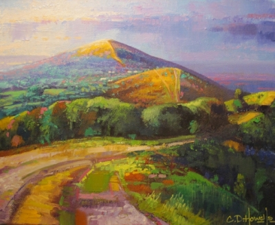 Malvern IV Study (oil on canvas 30 x 25cm unframed) £350 plus delivery