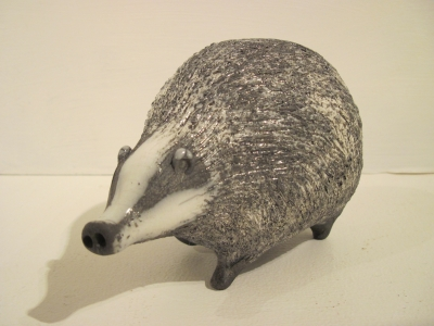 Badger 7 (original ceramic Width 16cm Height 10cm) £68 plus delivery by Alison Fisher