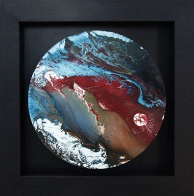 The Brodeur (mixed paint on board framed) SOLD by Matt Clarke