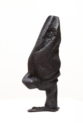 Dancing Bird (edition 1 of 5 cast iron 20 x 48cm) £3000 plus delivery by Caro Sweet ARBS
