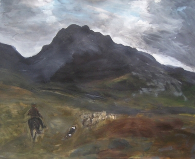 The Old Drovers Road SOLD by Claire Griffiths