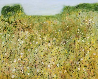 Early-Summer(acryilic on canvas, unframed, 150cm x 120cm) £3950 plus derlivery by Sally Stafford