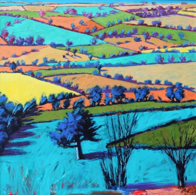 Teme Valley Summer II  by Paul Powis