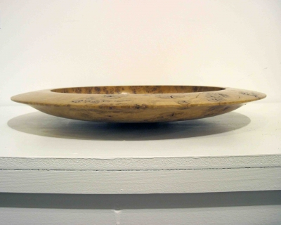 Oak Burr Platter by Keith Fenton