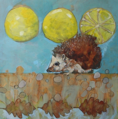 Grapefruits and Hedgehog by Christopher Rainham