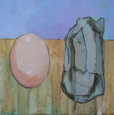 An Egg and a Stone (in the same bag)