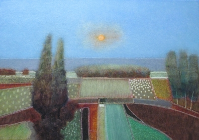 Rob Van Hoek Look at the Sun 50x70cm Oil on Canvas by Rob Van Hoek
