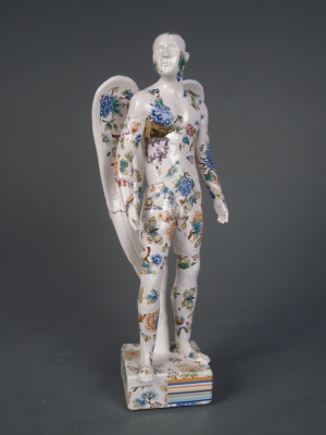 Standing Angel (original ceramic) £595 plus delivery by Pierre Williams