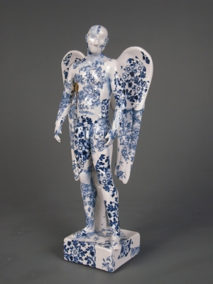 Standing Angel (original ceramic) Sold by Pierre Williams