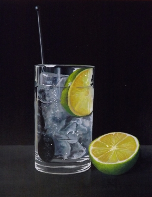 Gin, Ice and Lime! Sold by Peter Kotka