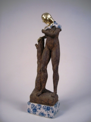 Standing Female Nude precious series (original ceramic)  £750 plus delivery by Pierre Williams