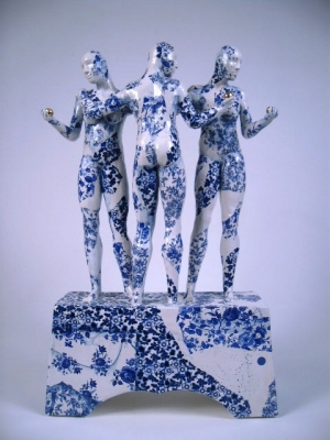 Three Graces for Raphael (original ceramic)  £1500 plus delivery by Pierre Williams