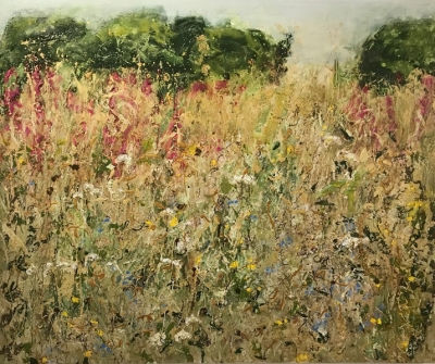 Meadow  (mixed media 120 x100cm unframed) £2650