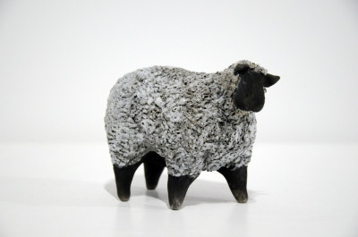 Sheep Blackfaced by Alison Fisher