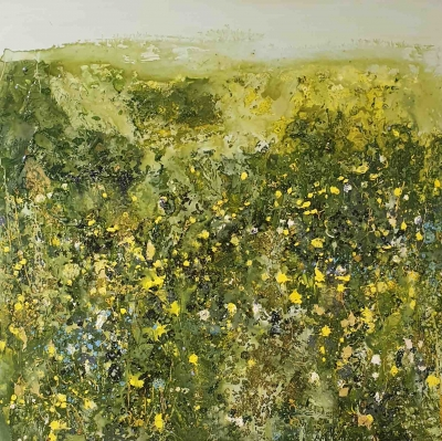 Green Meadow by Sally Stafford