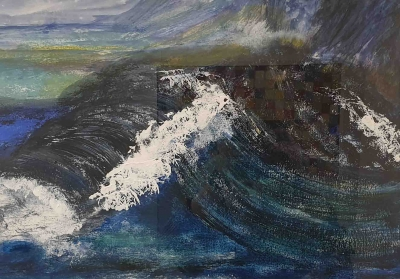 Into A Wave by Sue Maud