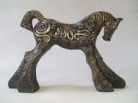 Coils Foal (bronze resin (edition 8 of 50) 29 x 19 x 7cm) £250 plus delivery