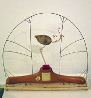 A Bird Called Birtie (mixed media sculpture 45 x 48cm) £180 plus delivery b