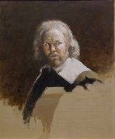 Robert Hardy as Sir Toby Belch (oil on board framed) £2200 plus delivery