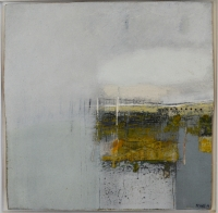 Devawdan (oil & mixed media on board, 34 x 34 cm) £850 plus delivery