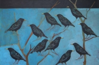 The Starlings That Weren't In The Chimney by Christopher Rainham