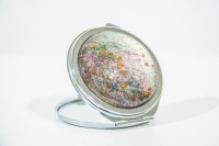 Compact Mirror made with Silk £20