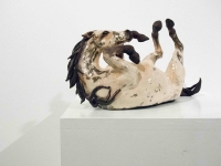 Rolling Horse I (original ceramic raku fired) £350