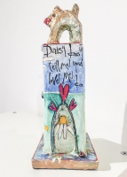Dog On A Stand (papier machie) £42 plus delivery
