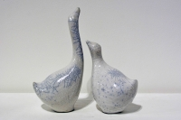 Tall Goose & Small Goose (Sold Separately) by Alison Fisher