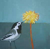 Wagtail and Dandelion