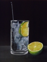 Gin, Ice and Lime! Sold