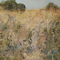 Downland 2 (mixed media 80 x 80cm unframed) £1750 plus delivery