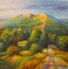Malvern II Study (oil on canvas 30 x 30cm unframed) £375 plus delivery